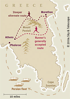 Ancient Marathon Route